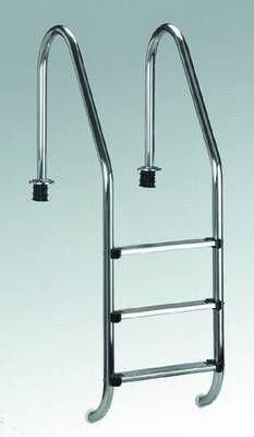 Einbauleiter Weitholm Standard, 4 Stufen, aus V2A