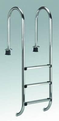 Einbauleiter Engholm Standard 4 Stufen, aus V2A