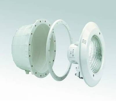 Unterwasserscheinwerfer ABS für Folienbecken komplett