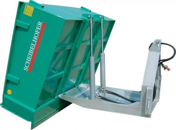 Heckcontainer Scheibelhofer Profi Plus Kipptransporter