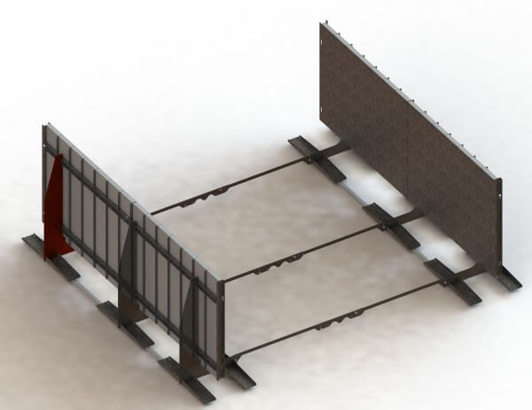 ConZero Poolsystem Stützwände
