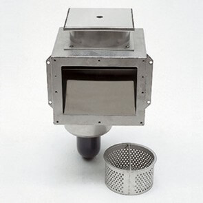 Edelstahl-Skimmer A 200