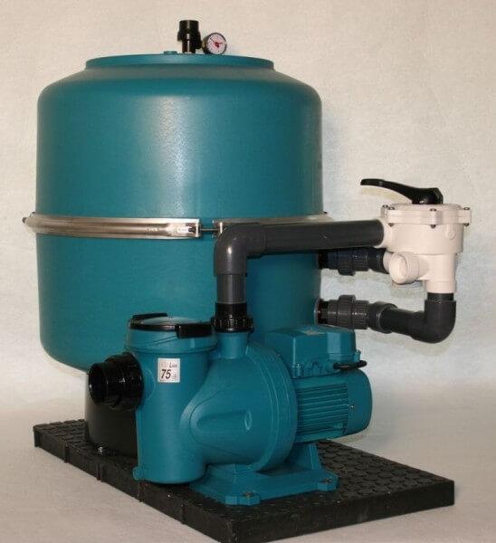 Filteranlage SF 600 Silen 75 - 15 M